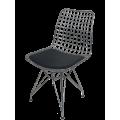 Tel sandalye